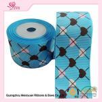 Cheap 2 Inch Custom Printed Grosgrain Ribbon ,  Heart Shape Printed Designer Grosgrain Ribbon wholesale