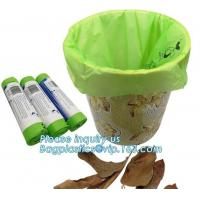 Cheap Fruit Packing Bio Compostable Bags , Pet Dog Biodegradable Waste Bags wholesale