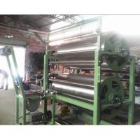 top quality 2 cylinders finishing and starching machine electric heating  for zipper tape, ribbon lace,webbing sling