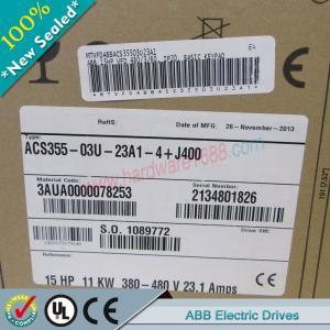 Cheap ABB ACS355 Series Drives ACS355-03E-02A4-4+B063 / ACS35503E02A44+B063 wholesale