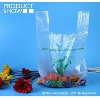 Cheap Grocery Biodegradable Compost Bags Fully PLA Food Grade In Roll wholesale