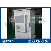 China Air Conditioner Cooling Outdoor Telecom Enclosure IP65 Double Wall With Insulation on sale