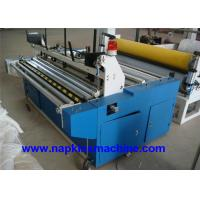 Cheap Laminated Small Toilet Paper Making Machine 1200mm With Plc Programming Control wholesale