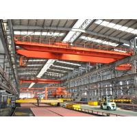 Cheap Heavy Duty QD Double Girder EOT Crane , Electric Trolley Overhead Bridge Crane wholesale