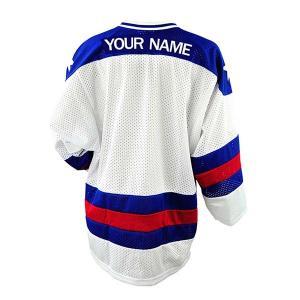 Cheap Hot Style Personalised Ice Hockey Jersey / Ice Hockey Shirt Anti Wrinkle wholesale