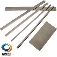 Cheap Power Tool Parts Carbide Flat Strips Silver - Grey Color With High Performance wholesale