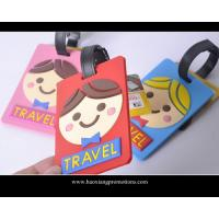 Cheap wholesale good quality custom promotional soft pvc luggage tag wholesale