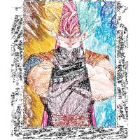 Cheap LED Frame 30*40cm 3D Anime Poster For Home Decoration wholesale
