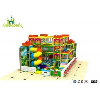 Cheap Kindergarden Kids Indoor Playground With Rotary Slide wholesale