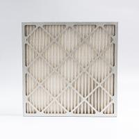China Pre Efficiency Industrial  Filters Panel Air Filter MERV 8 Pleated on sale