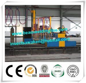 Cheap Professional CNC Plasma Cutting Machine , Flame H Beam Cutting Machine CE / ISO wholesale
