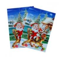 Cheap print custom lenticular cards 3D Dynamic cards animation lenticular card sale and export Mozambique wholesale