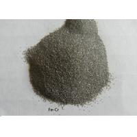 80 Mesh Ferro Chrome Powder 9.0% Carbon Finished Products Without Lump / Dregs