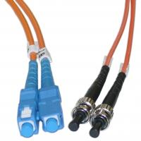 Cheap Duplex ST to SC Multimode Fiber Optic Patch Cord for Telecommunication Networks wholesale