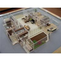 Cheap Miniature Interior Design Models , Acrylic House Interior 3D Model 60 * 60CM wholesale