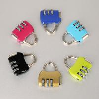 Cheap Travel Luggage Resettable Combination Padlock 3 Numbers For Password Suitcase wholesale