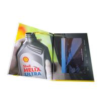 Buy cheap A5 Portrait Folder Lcd Video Greeting Card , Audio Video Business Cards IPS from wholesalers