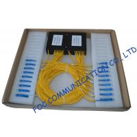 Cheap High Return Loss Fiber PLC Splitter 1 × 8 / Compact Pallet Splitter wholesale