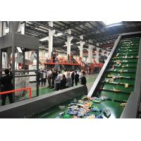 Cheap Flakes PET Recycling Line , Plastic Washing Line Pipe Drying System Long Durability wholesale
