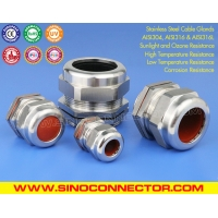 304, 316, 316L Polished Stainless Steel IP68 Cable Glands with Viton Seals