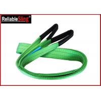 Cheap 2ton Approved Color Code Lifting Sling Flat Webbing Lifting Slings Safety wholesale