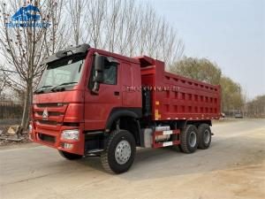China 371HP 18m3 Cargo Box Used SINOTRUCK Tipper Truck For South Sudan on sale