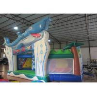 Cheap Outdoor Games Toddler Bouncy Castle , Small Indoor Bounce House 9.5 X 6 X 5m wholesale
