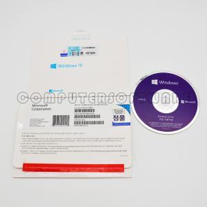Cheap New package Windows 10 Pro Retail korean Languages windows 10 pro retail DVD box windows 10 pro for wholesale
