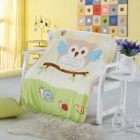 Cheap Pretty Anti Bacterial Non - Irritating Wool Newborn Baby Muslin Blanket wholesale