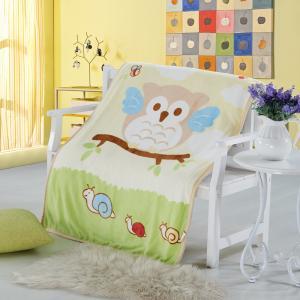 Cheap Pretty Anti Bacterial Non - Irritating Wool Newborn Baby Muslin Blanket wholesale