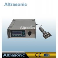 Cheap Table Style Special Ultrasonic Cutting Actuator For Rubber With Titanium Cutter wholesale