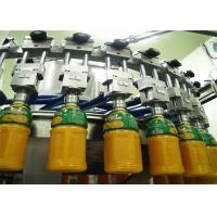 China Complete Mini Automated Fresh Fruit Juice Making Production Line With CIP Cleaning System on sale
