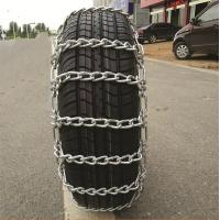 Cheap Safe Driving Wear Resistant Anti Skid Chains Galvanized Color High Stability wholesale