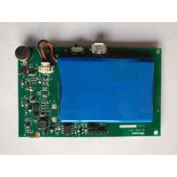 Green SMD PCB Assembly Rogers Material With Battery And Module Immersion