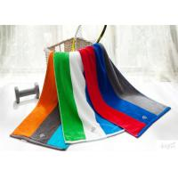Stripe Yarn Dyed Towels 100% Cotton With Personalized Logo 400gsm