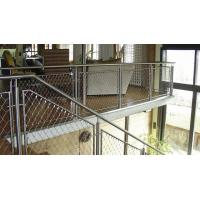 Buy cheap Ferrule Flexible Cable Mesh Stainless Steel Rope 3D Structure For Spiral Staircase from wholesalers