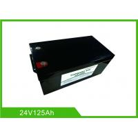 Buy cheap Lifepo4 Deep Cycle Lithium Ion Battery 24V 125AH Electric Forklift Environmental from wholesalers