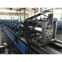Cheap 0.9 - 1.5mm Wire - electrode cutting Hat Roll Forming Machine 15 stations wholesale