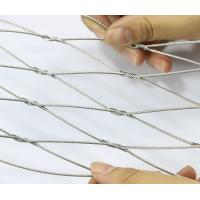 Buy cheap Rhombus Stainless Steel Cable Netting, Bird Aviary Steel Cable MeshNo Toxic from wholesalers