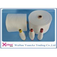 Cheap Colored Top Dyed Polyester Yarn /  Spun Polyester Sewing yarn Eco-Friendly for sale
