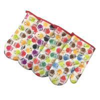 China Soft Colorful Microwave Oven Gloves For Household Electrical Appliance on sale