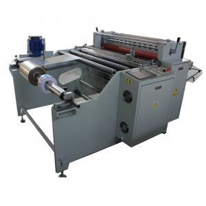 China Microcomputer Insulation Paper Roll Cutting Machine With Man-machine Interface on sale