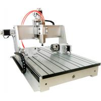 Cheap Wireless USB CNC Controller Mach3 4th axis 6040 CNC Router Desktop CNC Routing Machine wholesale