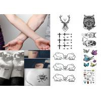 Cheap Custom long lasting removable waterproof  temporary tattoo sticker for body wholesale