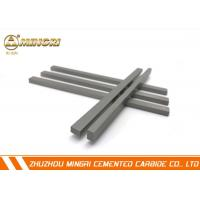 Buy cheap Non - Ferrous Metal / Non - Metallic Materials Tungsten Carbide Strips 91.8 HRA from wholesalers