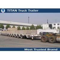 High Strength Steel Multi Axle Trailer