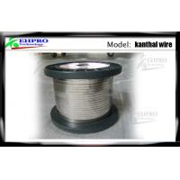 Cheap 0.16mm E Cig Wire A1 Kanthal Flat Ribbon For Rebuildable Atomizers , 42ohm / Meter wholesale