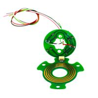 Cheap 4 Circuits Separate Flat Slip Ring with Precious Metal Contact for Robots wholesale