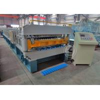 Cheap 7.5KW Double Layer Roll Forming Machine Working Speed 25m / min wholesale