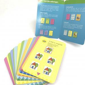 Cheap Recyclable Matt Lamination Pantone Learning Flash Cards wholesale